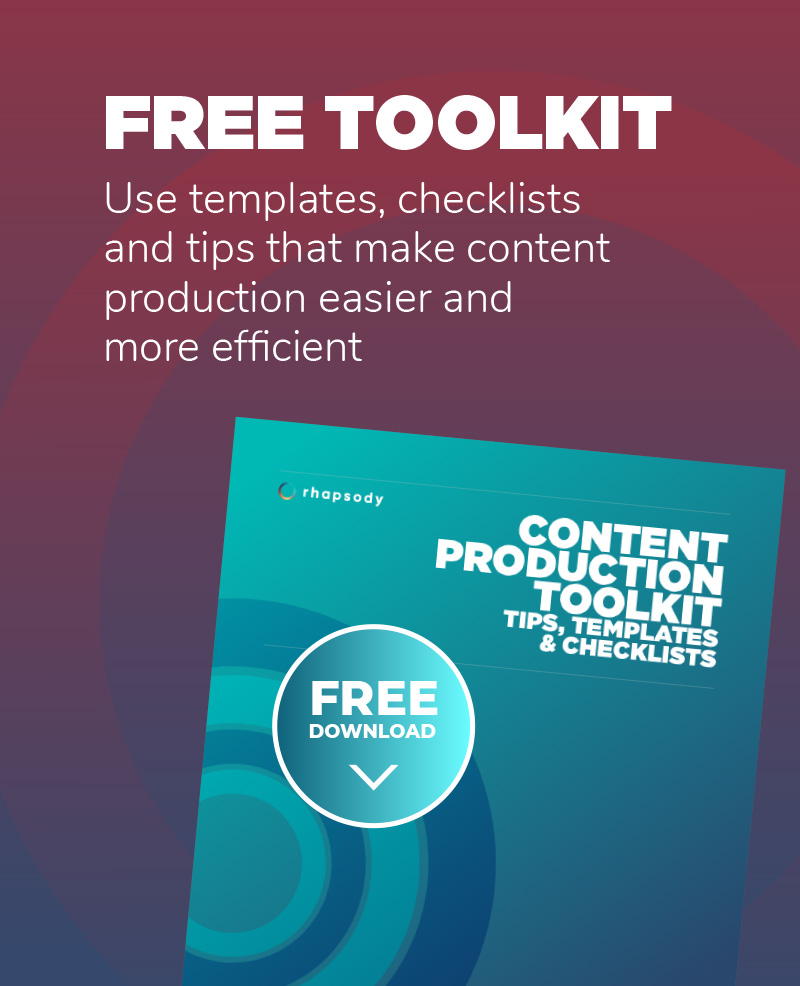 Content production toolkit